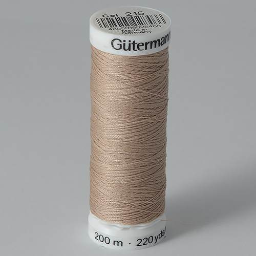 Нитки Gutermann SewAll №50 200м цвет 215
