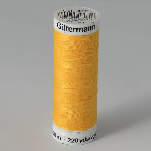 Нитки Gutermann SewAll №50 200м цвет 417