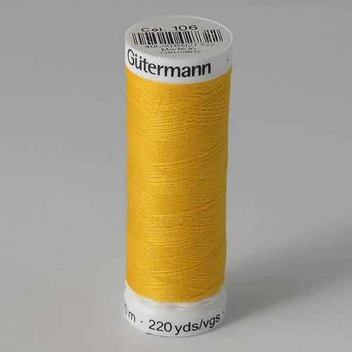 Нитки Gutermann SewAll №50 200м цвет 106