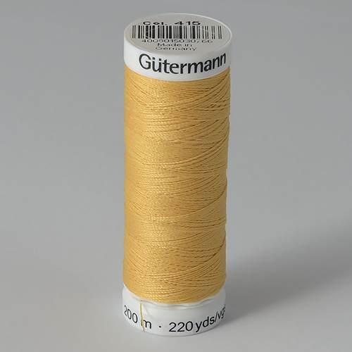 Нитки Gutermann SewAll №50 200м цвет 415